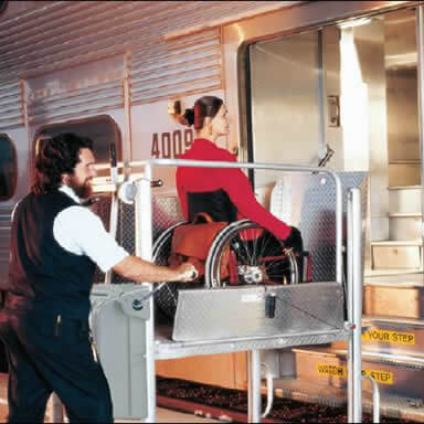 Mobilift TX  Wheelchair Lifts for Trains and Railways